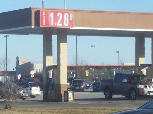 Wow! $1.28 gas price! Woohoo!