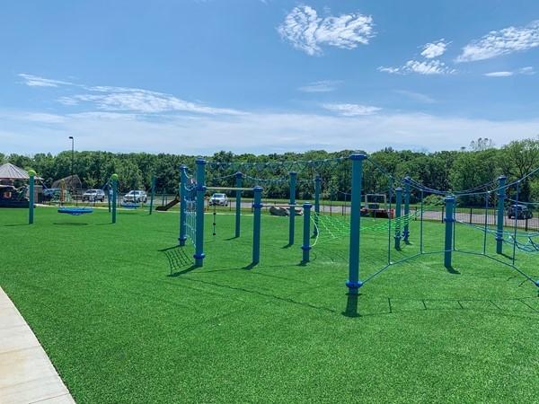 Hodge Park's new playground