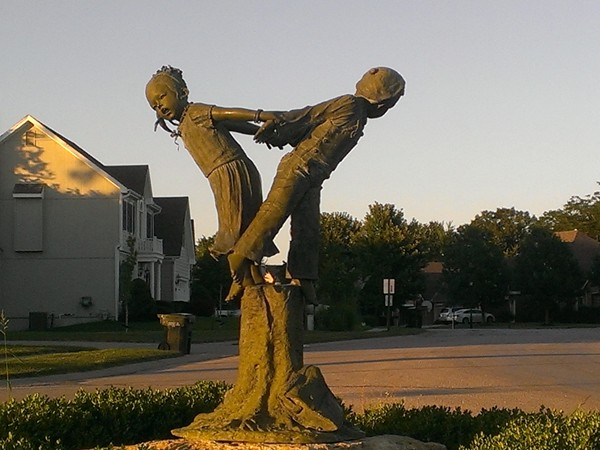 A Thousand Oaks sculpture in honor of little boys and girls everywhere