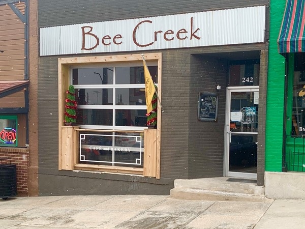 Bee Creek Cafe and Bakery is a quaint coffee and brunch spot
