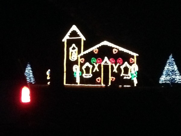 Longview Lake Park puts on a fantastic light display