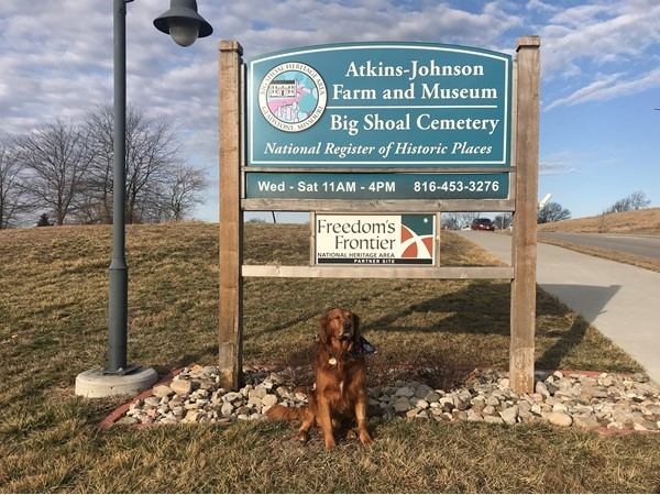 Diego visits Atkins- Johnson Farm and Museum