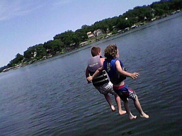 Summer fun at Lake Lotawana!