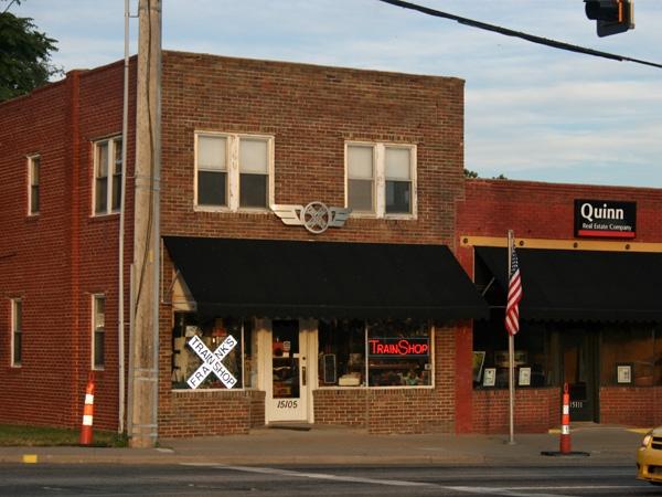 The Train Shop - Model train shop, 151st & Metcalf