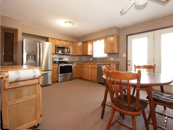 A picture of a kitchen in Blue Mills Subdivision in Independence