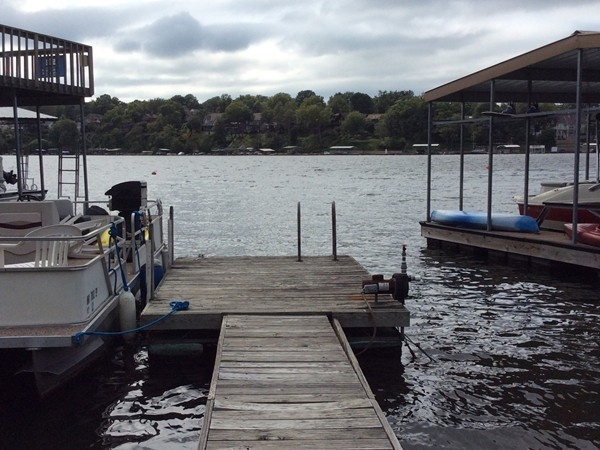 Enjoy docks behind your home in Lake Lotawana