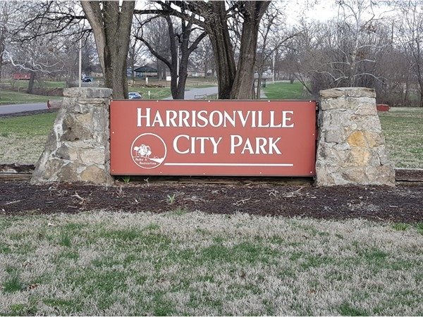 Let's go to the park! So much to do here at the Harrisonville City Park. Fishing, golfing, and more