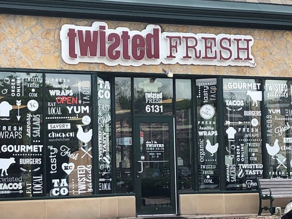 There is nothing bad at Twisted Fresh!  My hubby took me here and it's fabulous, yummy and fun