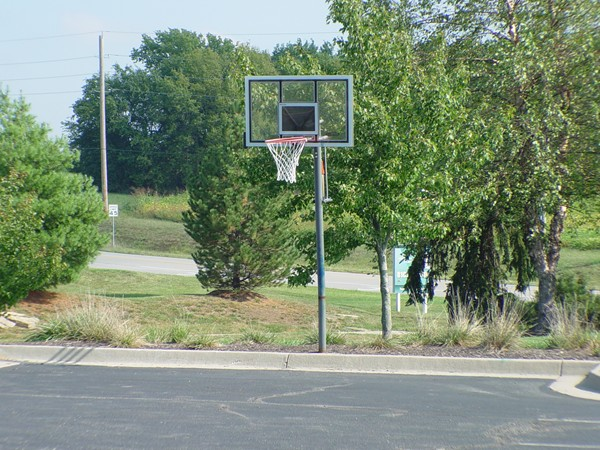 Basketball Court at Eagle Creek
