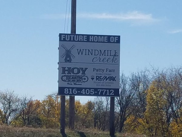 New subdivision east of Platte City! Come check it out