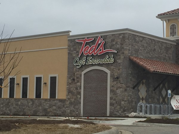 Ted's Cafe Escondido Mexican Restaurant. Yum