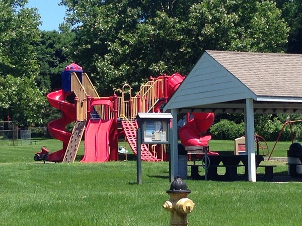 Playset located in the heart of Roeland Park