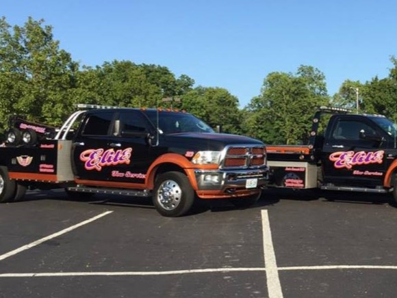 Elite Tow Service operates in the Jackson County area