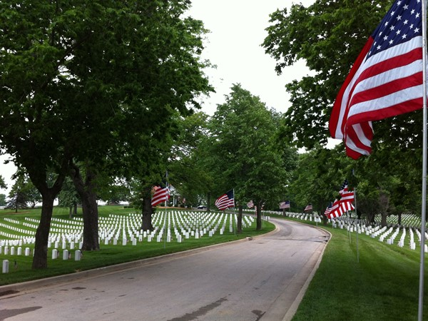 VA National Cemetery in Leavenworth