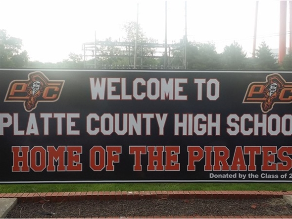 Platte County High School- home of the Pirates