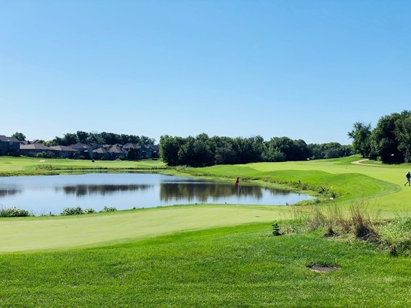 Another beautiful view of Prairie Highlands Golf Course