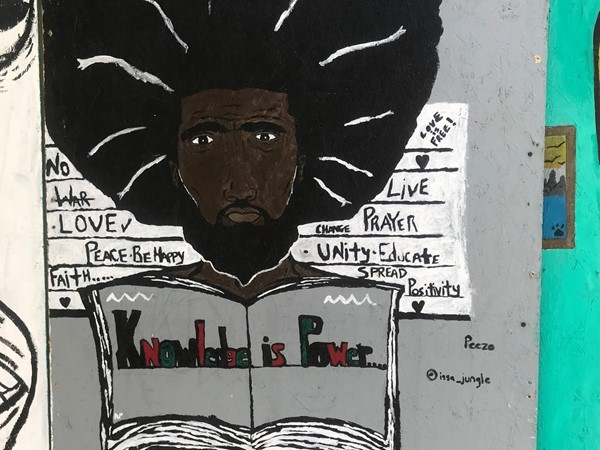 Knowledge is Power - Art in Westport