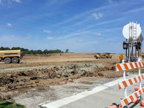 Mixed use development near Interstate 470 and Pryor