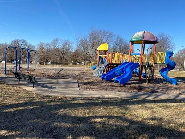 Playground at Santa Fe Trail Park