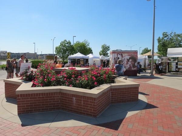 Entrance to the Lenexa Art Fair