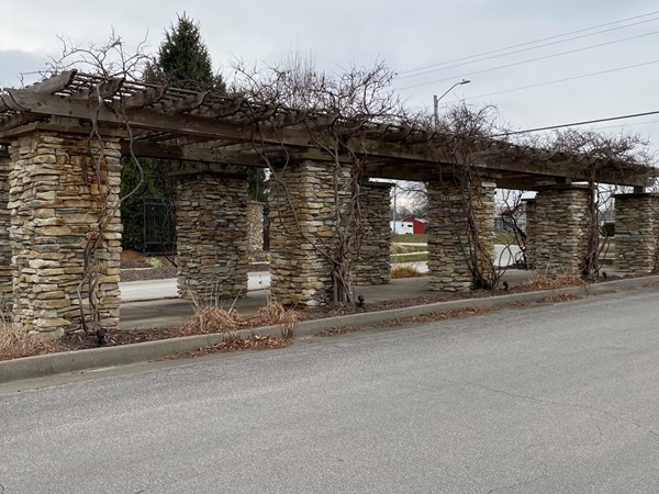 Napa Valley entrance