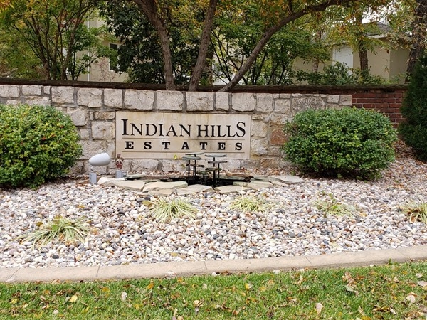 Beautiful mature trees of all colors in Indian Hills Estates
