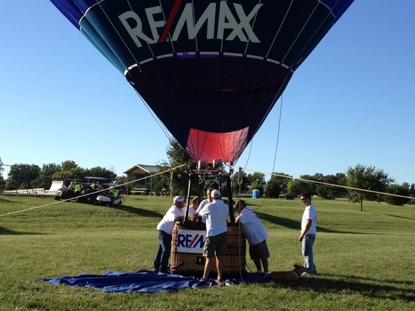 RE/MAX Balloon at Jesse James Festival