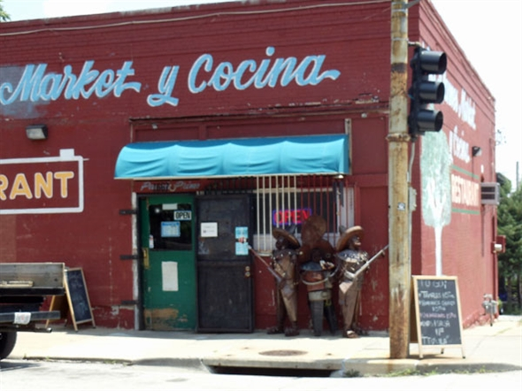One of the many unique shops in the West Side District.