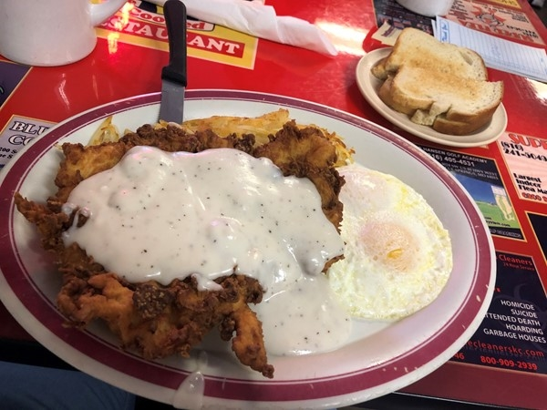 Missing grandma's country cooking? Try Sandy's Family Restaurant