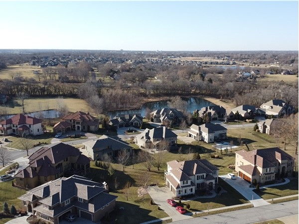 Colton Lake Estates in South Overland Park