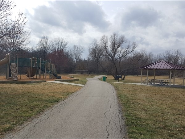 Take advantage of the warm weather with a stroll through Brittany Park