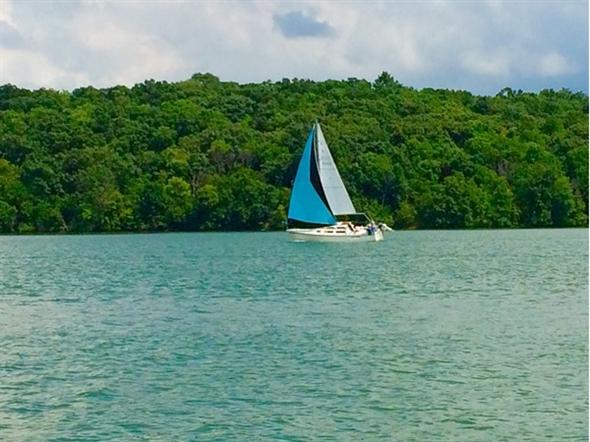 Lake Jacomo Sail Boat Cove