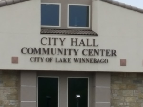 The community center at Lake Winnebago