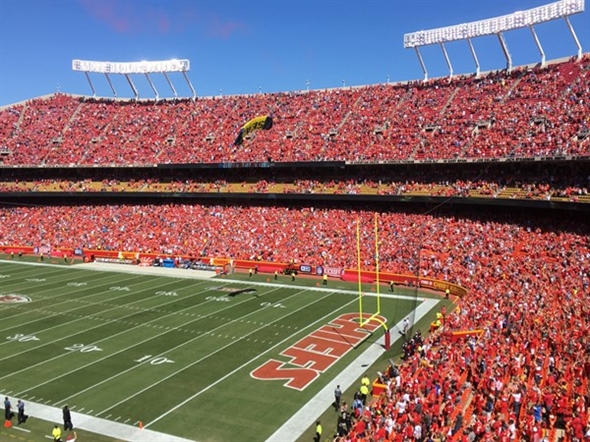 Nice day for a Chiefs game