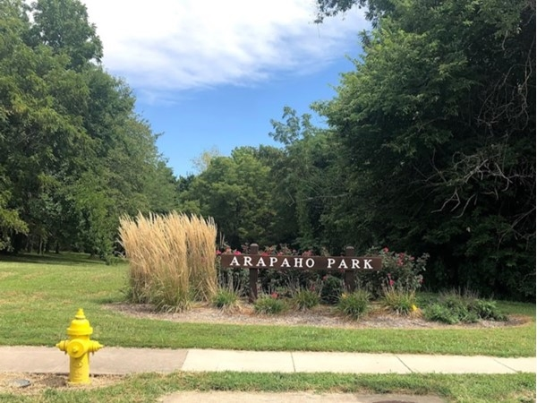 Arapaho Park is within walking distance from Rolling Meadows