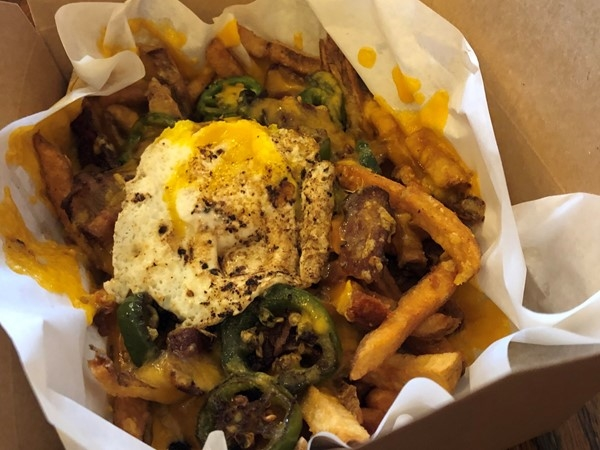 Killer fries at The Green Room in Westport