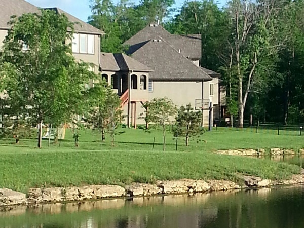 Colton Lakes: Lakefront living in Overland Park.