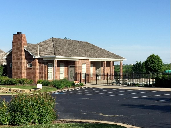 The clubhouse at Bristol Ridge in Lenexa
