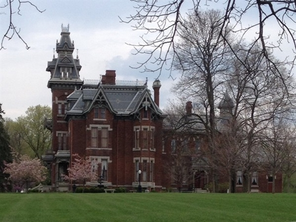 The historic Vaile Masion, a 31-room mansion built in Independence circa 1881