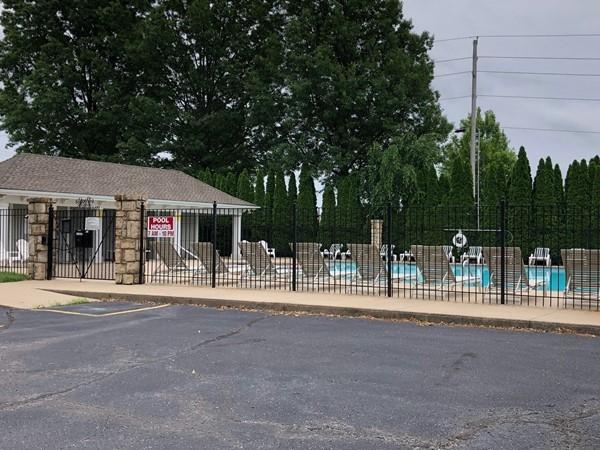 Pool is now open in Savannah Ridge