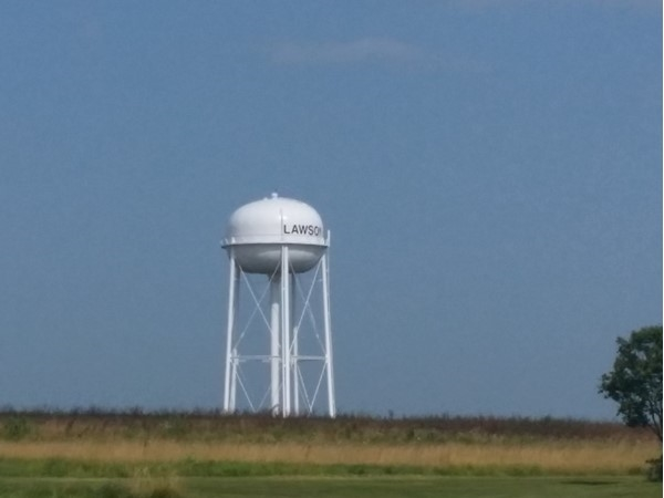 Lawson watertower