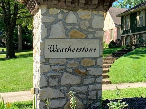 Weatherstone entrance