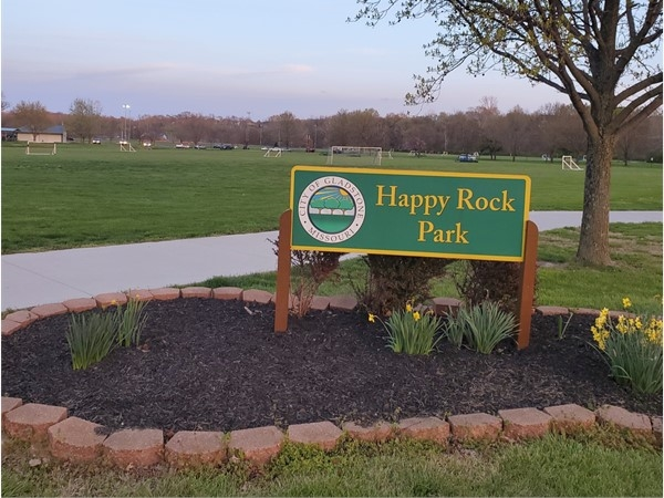 The park is full of basketball and tennis courts, baseball and soccer fields, and a walking trail