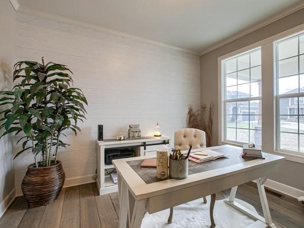 Office in model home