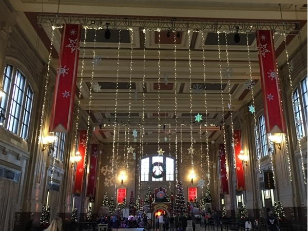 Union Station is beautiful this time of year