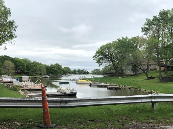 Pontoons are ready for Summer 2019 at Lake Waukomis.  Bring on the sun