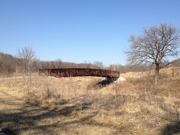 Prairie Creek trail is one many great paved trails in the Platte County School District