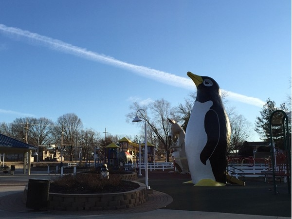 Penguin Park is a very cool park