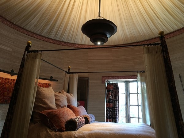 Beautiful bedroom in the Castle home at Weatherby Lake