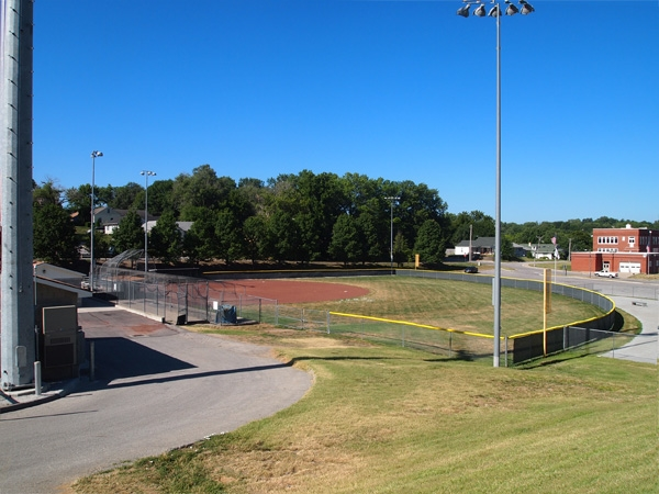 One of the fantastic Ball Fields at Harrel Ferrel Park